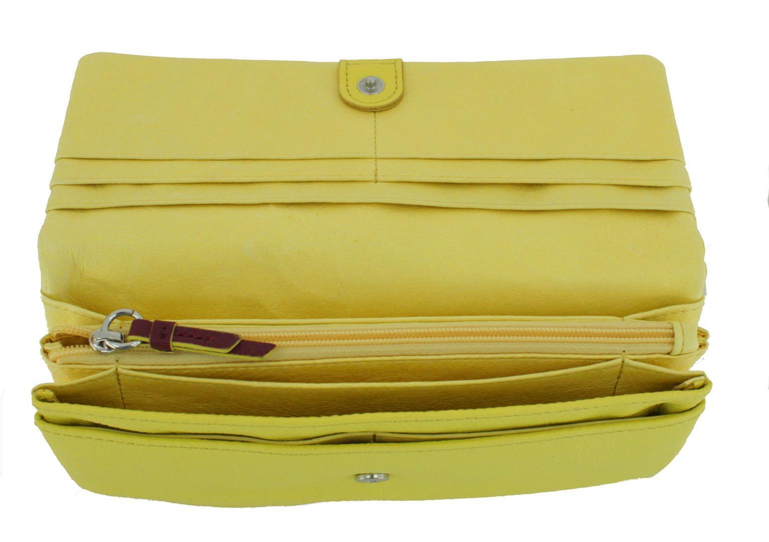 Liebeskind Geldtasche SlamLS8 Vintage sun gelb/lila
