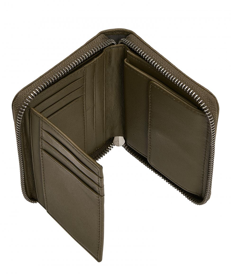 Liebeskind Harris Conny C20 dunkelgrün RFID Zipbörse