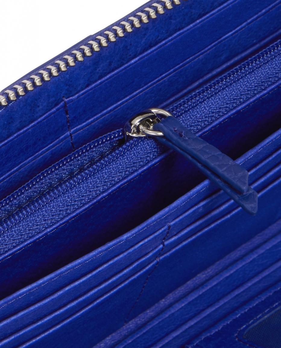 Liebeskind Langbörse MiGigiH8 heavy pebble deep blue blau