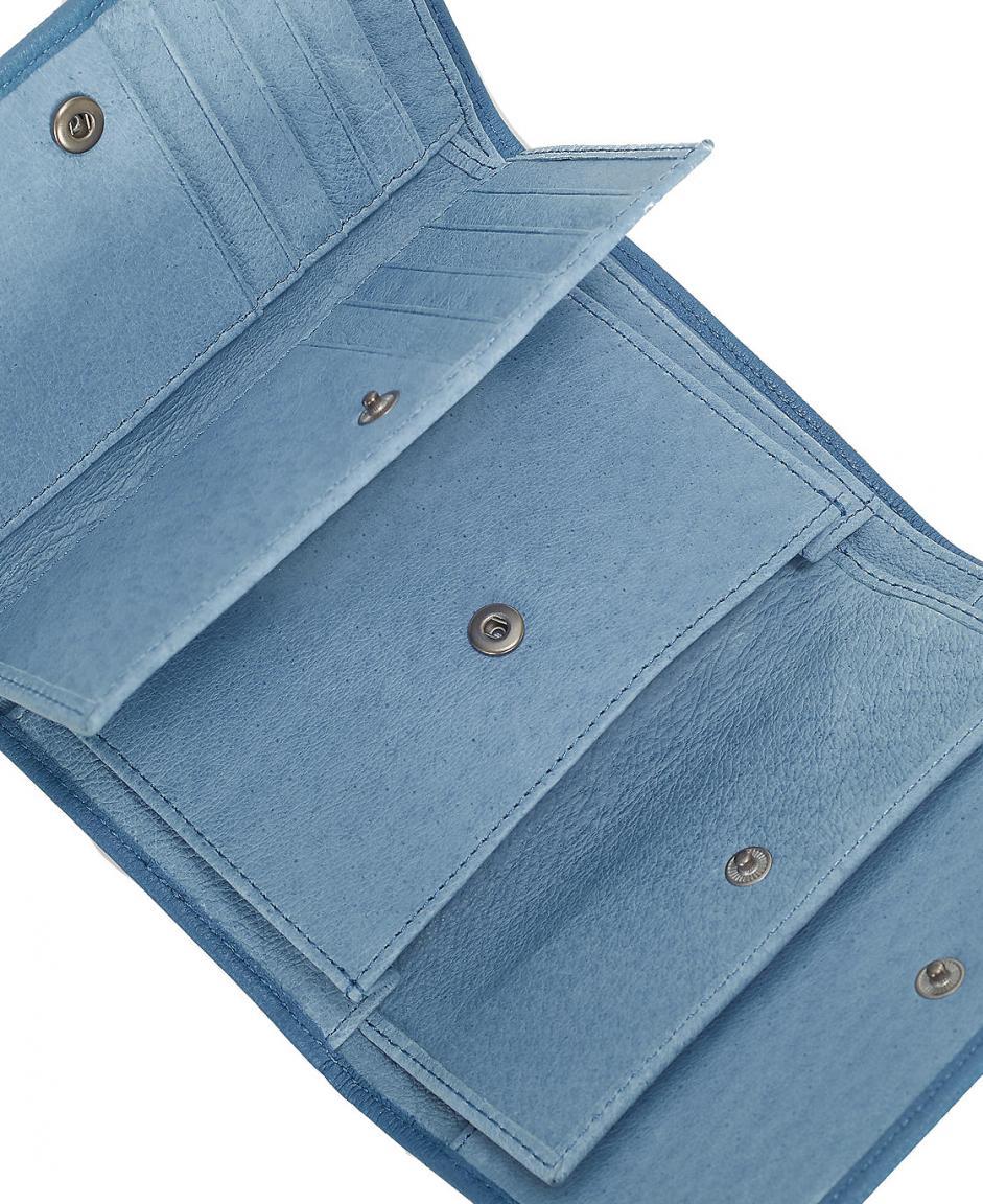 Liebeskind Lederbörse Überschlag PiperF8 Vintage denim blue