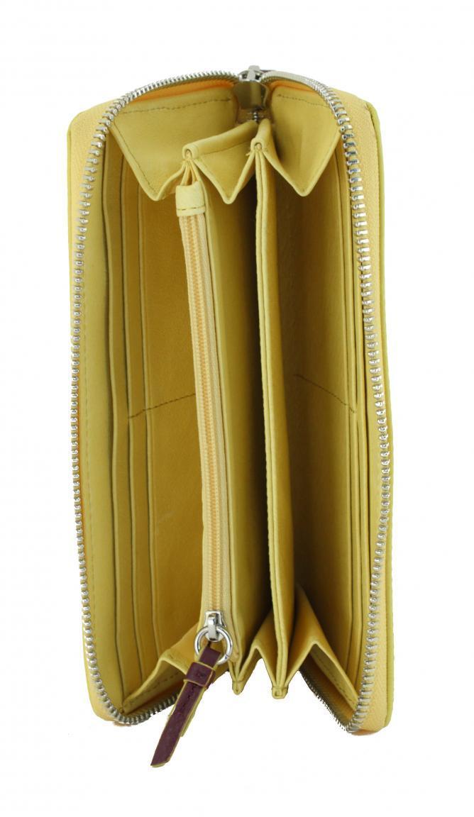 Liebeskind Longbörse SallyLS8 Reißverschluss Vintage sun gelb