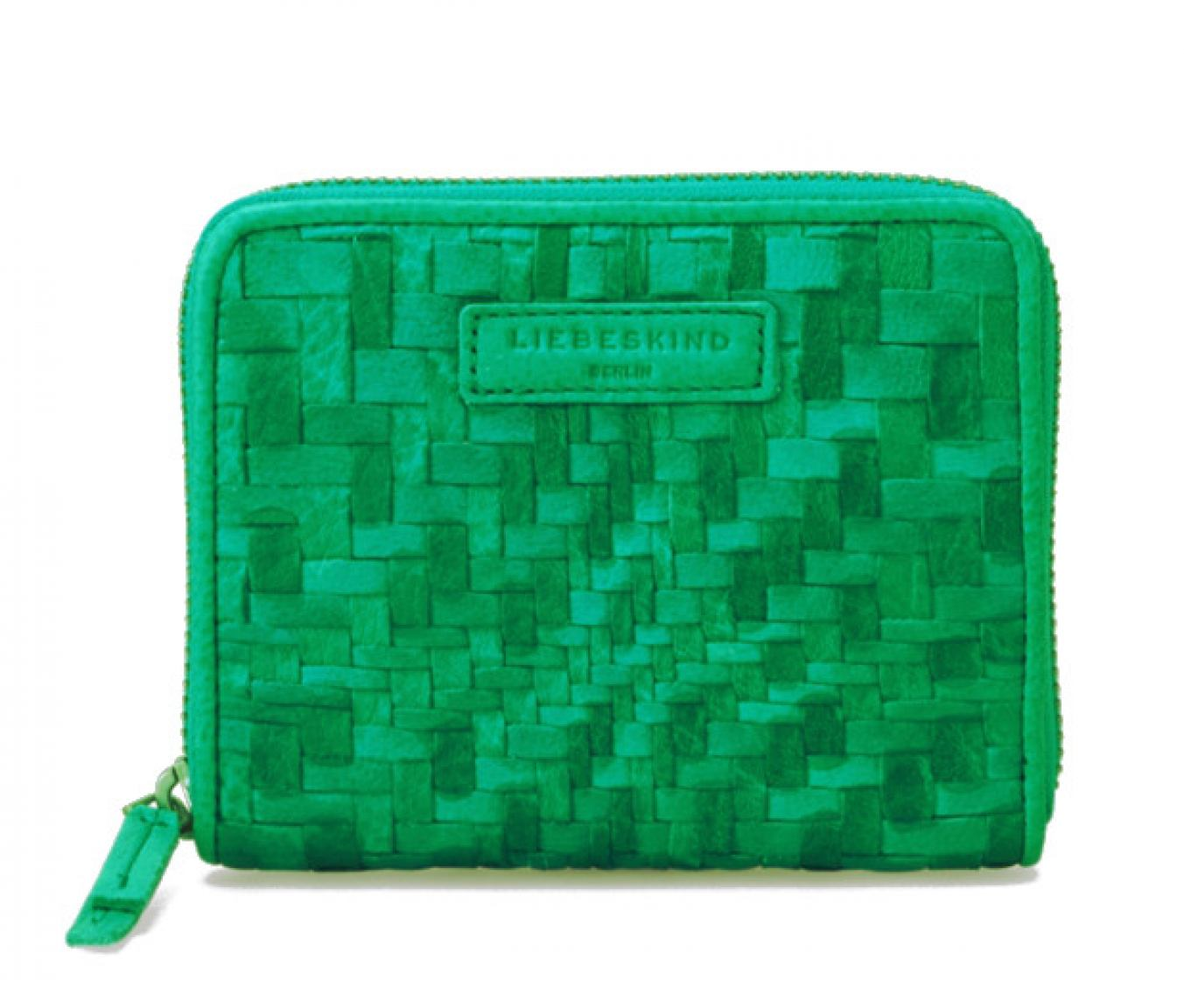 Liebeskind Portmonee ConnyS7 Double Dyed Weave Palm Green