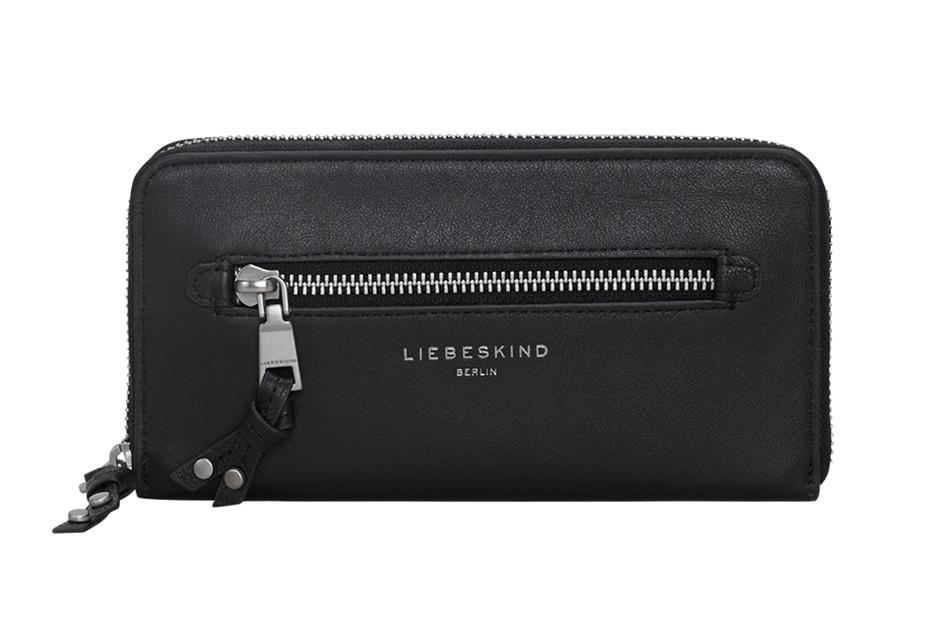 Liebeskind Portmonee Leder Aruba Vintage black schwarz