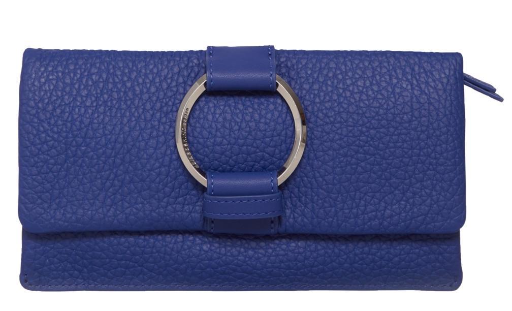 Liebeskind Überschlagbörse MiSlamH8 heavy pebble blau