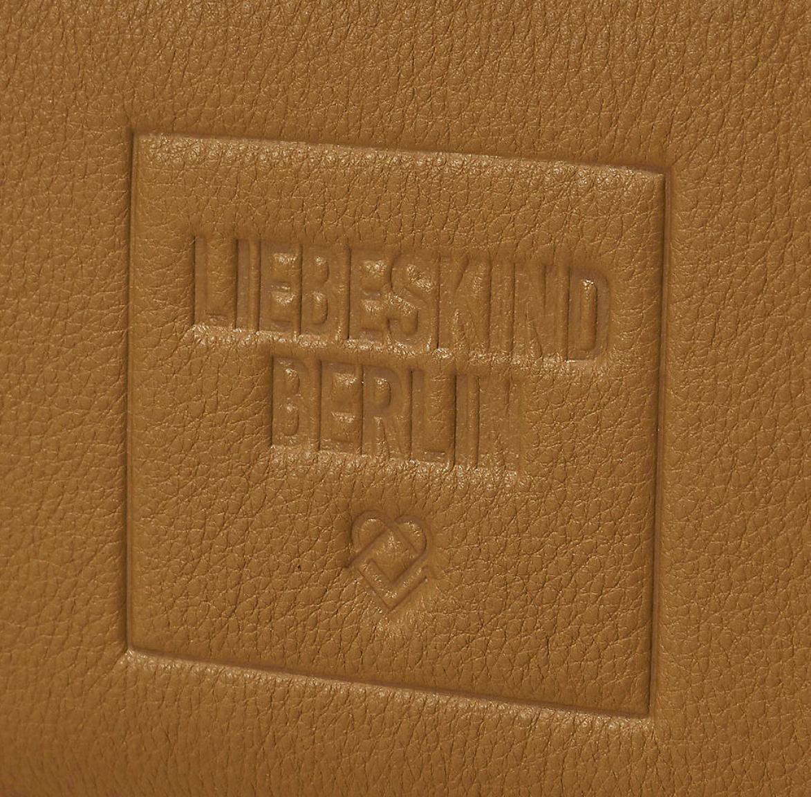 Liebeskind Zipbörse GigiW7 Sioux Beige Vintage Schriftzug