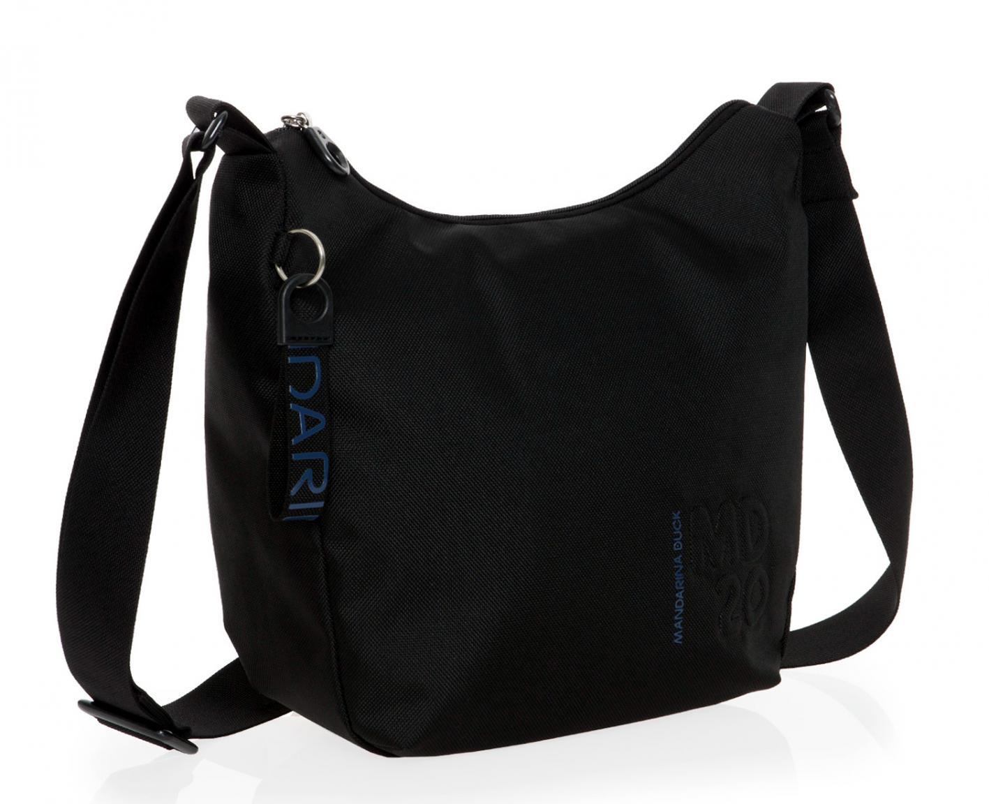 6d3d62078 Mandarina Duck MD20 Crossovertasche Gurt Zipfach Black - Bags & more
