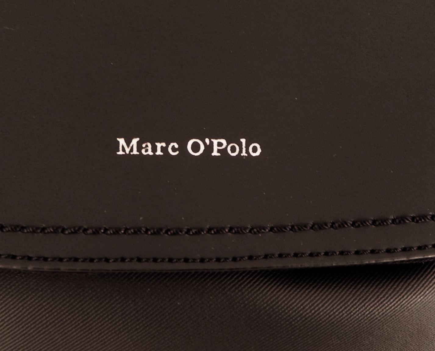 Marc OPolo Rucksack Überschlag schräg strukturiert grey grau