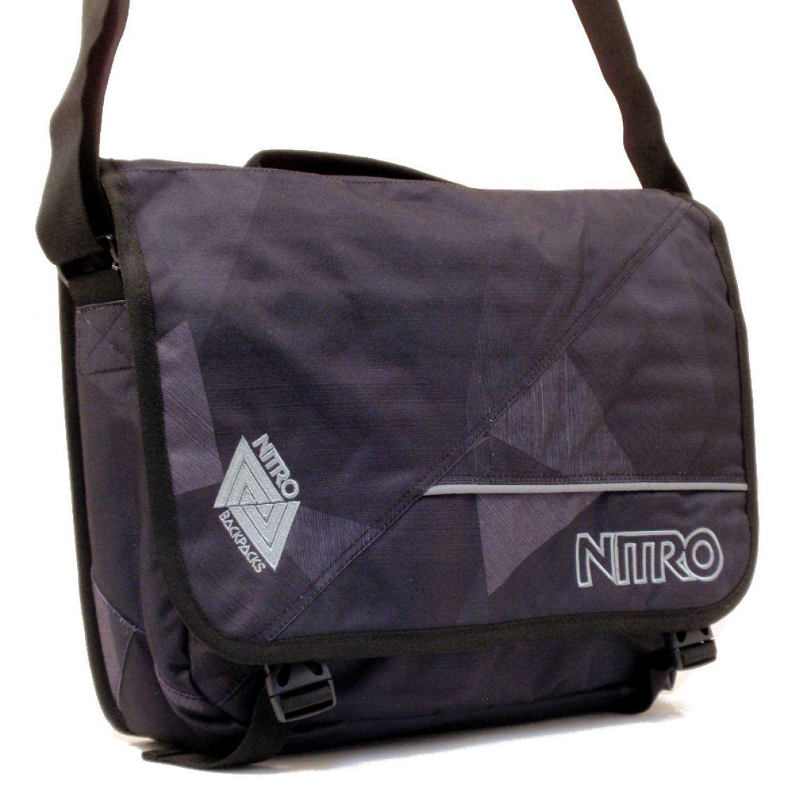 Nitro Collegetasche Evidence Bag fragments black