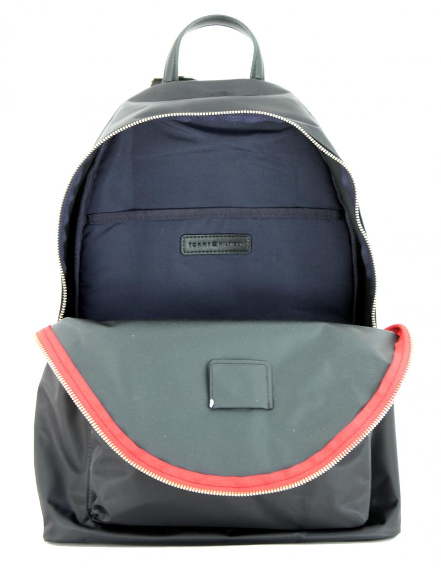 Nylonrucksack für Damen Tommy Hilfiger Poppy Backpack schwarz
