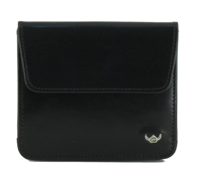 Portemonnaie Golden Head Colorado handgefärbt schwarz