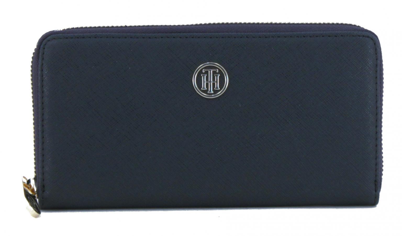 Portemonnaie Tommy Hilfiger Honey LRG ZA Wallet dunkelblau