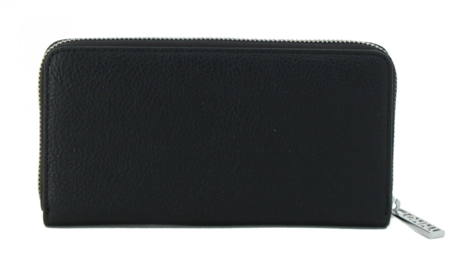 Portemonnaie Tommy Hilfiger TH Core LRG schwarz grau
