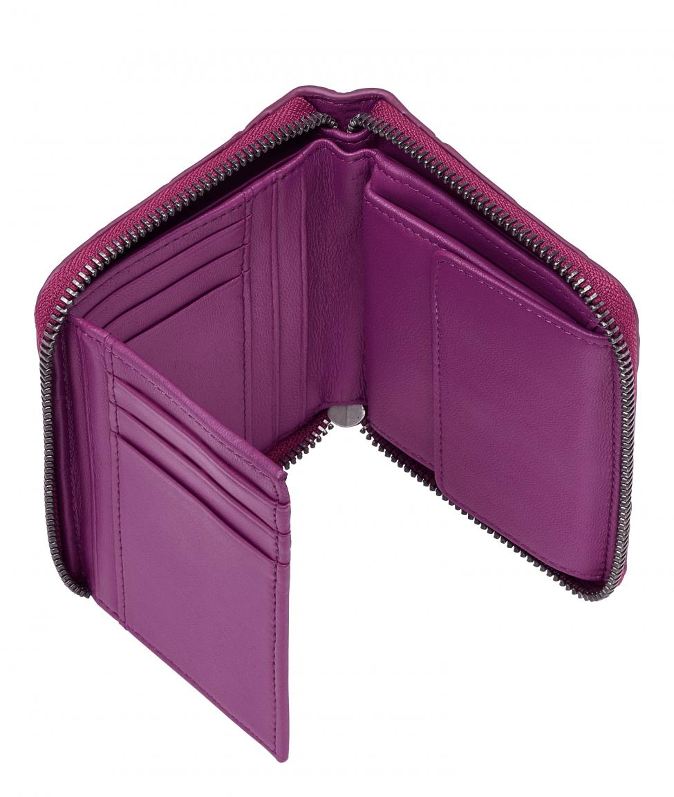 Portemonnaie pink Conny Waxy Croco roseberry RFID Liebeskind