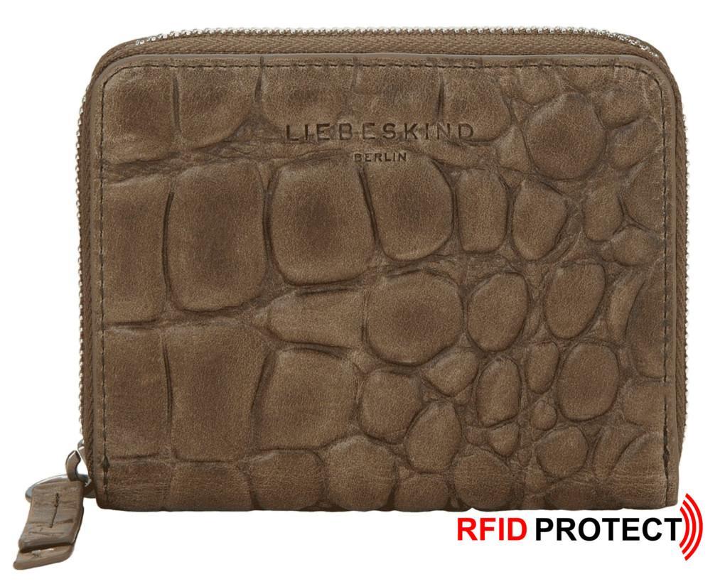 RFID Börse Liebeskind Ally Conny PS9 Waxy Croco Reißverschluss
