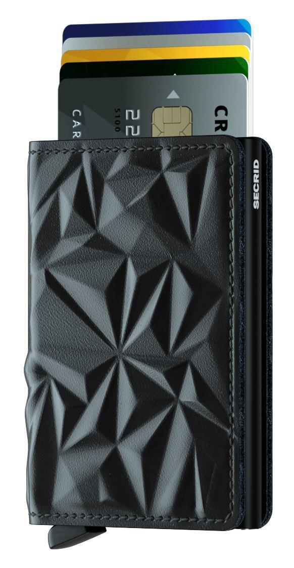RFID-Schutz Secrid Slimwallet Börse Chipkarten Prism Black