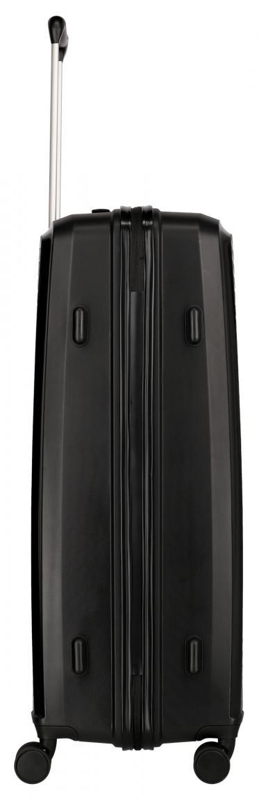 Reisetrolley 78cm schwarz Travelite Ceris L 4-Rad Zahlenschloss