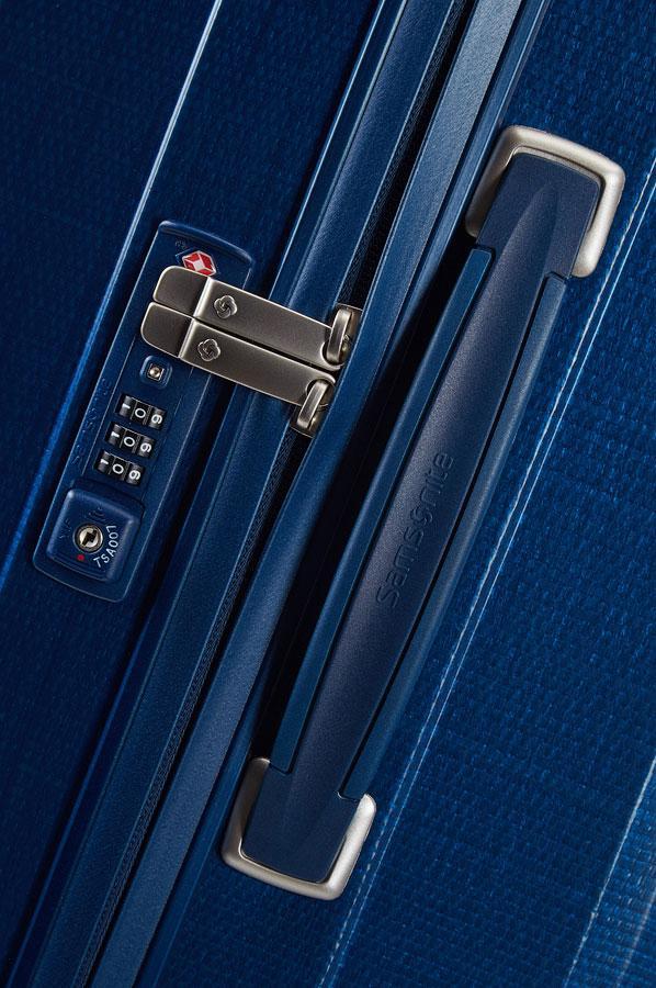 Reisetrolley Samsonite Lite-Cube blau Electric Blue Hartschale
