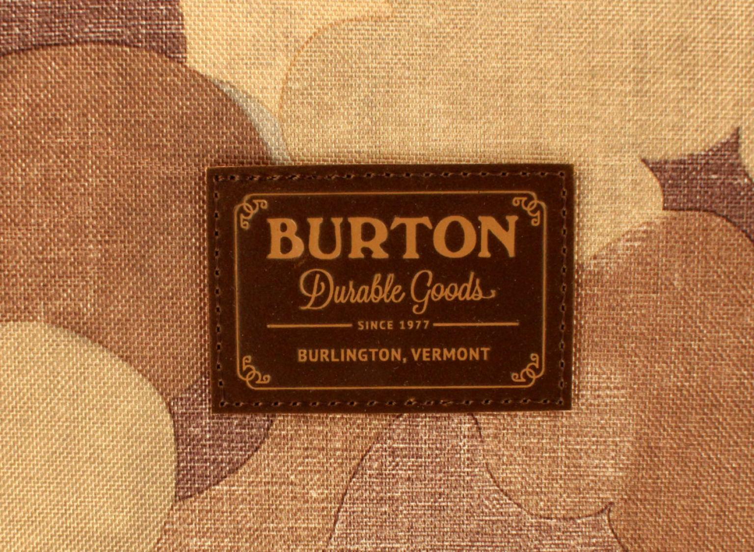 Rollenkoffer Burton Wheelie Double Deck Tarnmuster blau