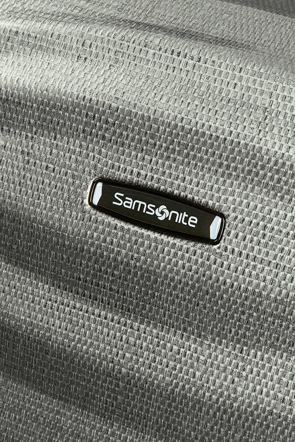 Rollenkoffer Samsonite Lite-Shock Metallic Green 69cm grüngrau