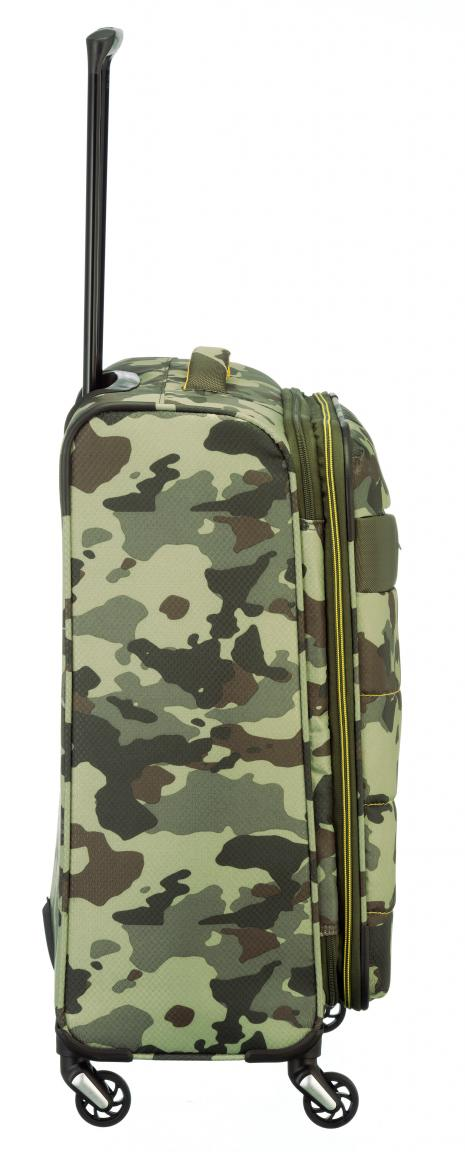 Rollenkoffer Travelite Kite M 64cm Camouflage erweiterbar