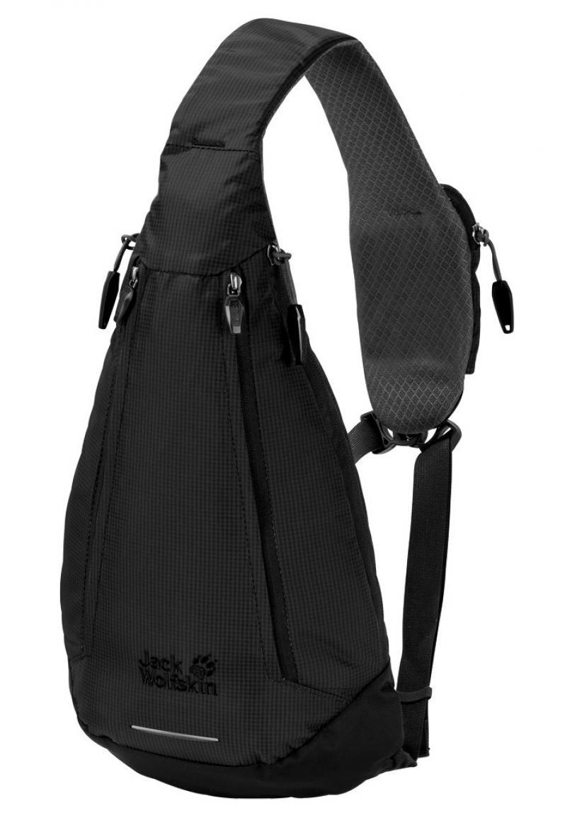 verschiedene Stile langlebig im einsatz neu billig Rucksack Jack Wolfskin Delta Bag Ocean Black Schwarz