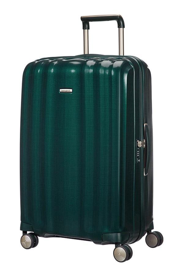 Samsonite Reisekoffer Lite-Cube 76cm Dark Green Curv