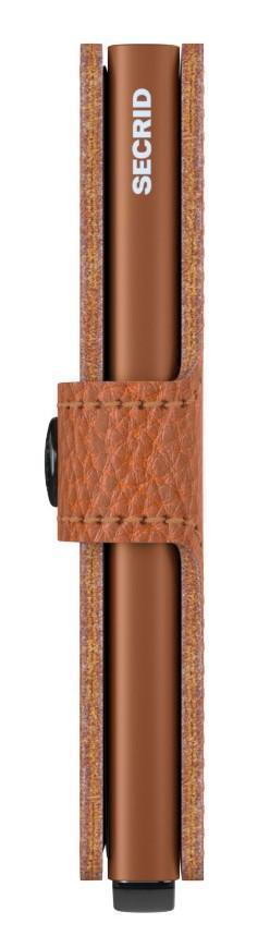 Scheinbörse Secrid Miniwallet Stitch Linea Caramello braun