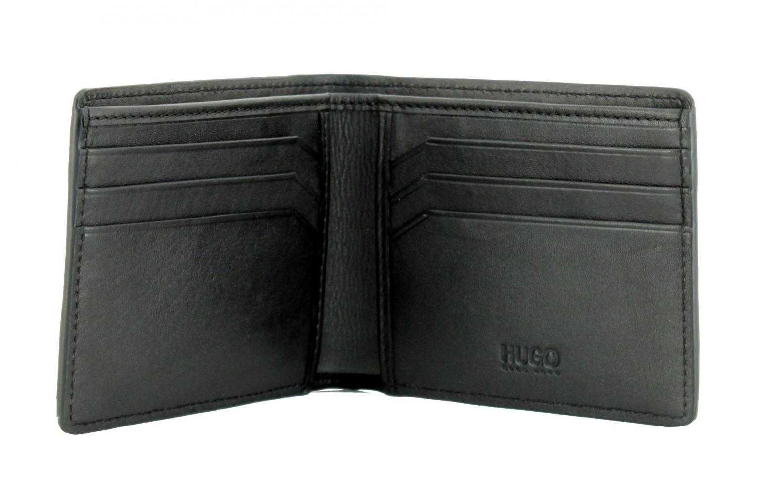 Scheintasche Hugo Boss Victorian LW_6 cc schwarz weiß