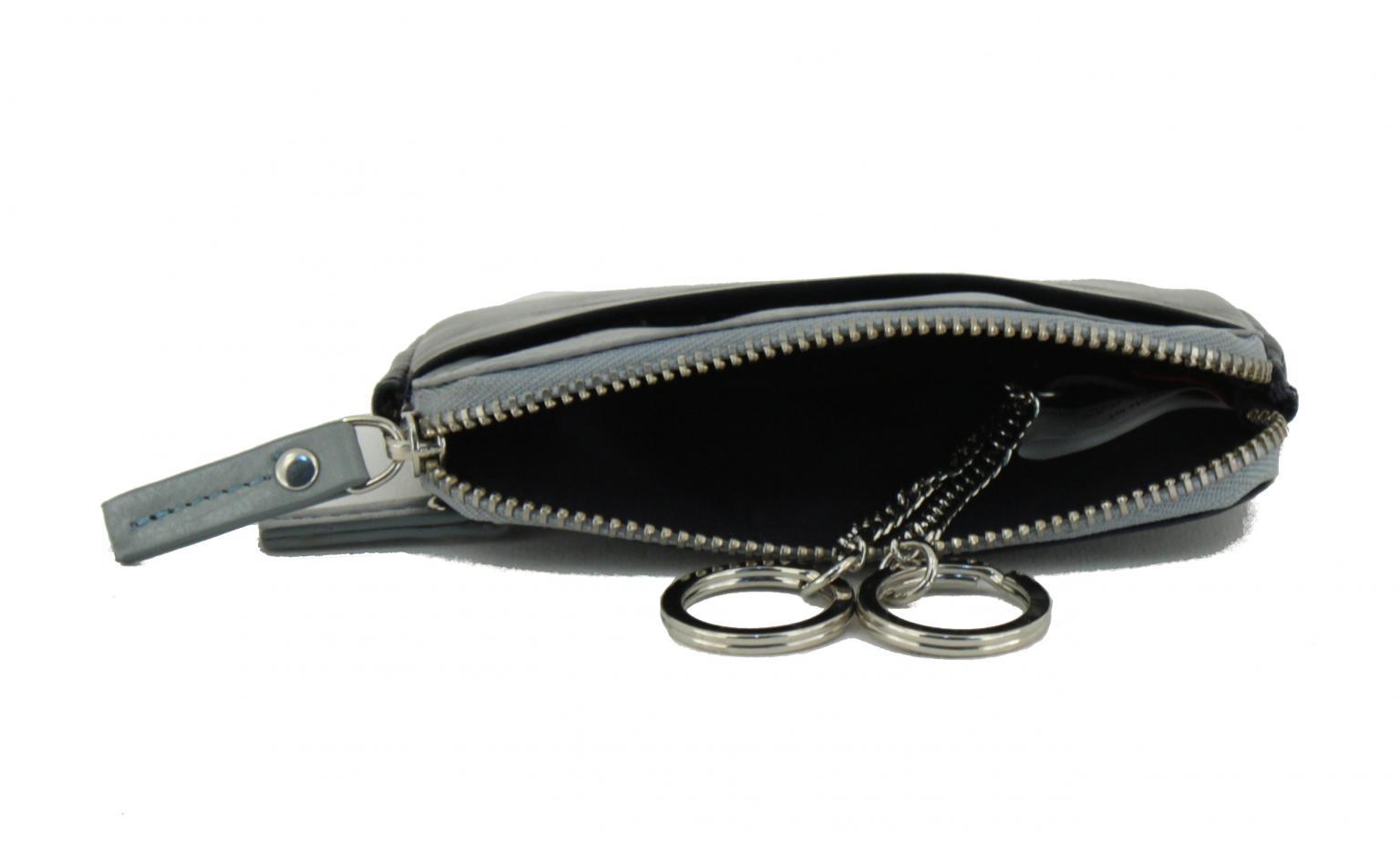 Schlüsseletui Maitre sohren Sigwulf dunkelblau grau
