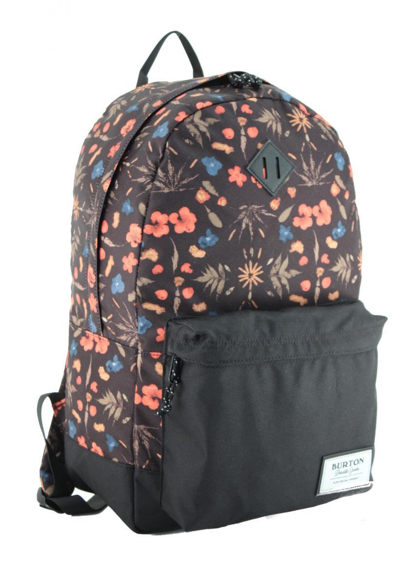 Schulrucksack Burton Kettle Pack Blumenprint schwarz 20 Liter