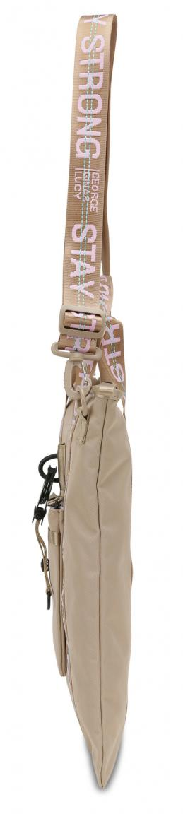 Schultertasche XT3ND3D George Gina Lucy beige rose GG&L