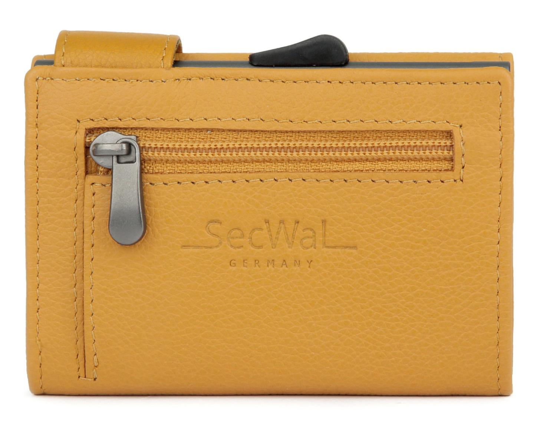 SecWal Chipkartenetui RFID Portmonee yellow gelb