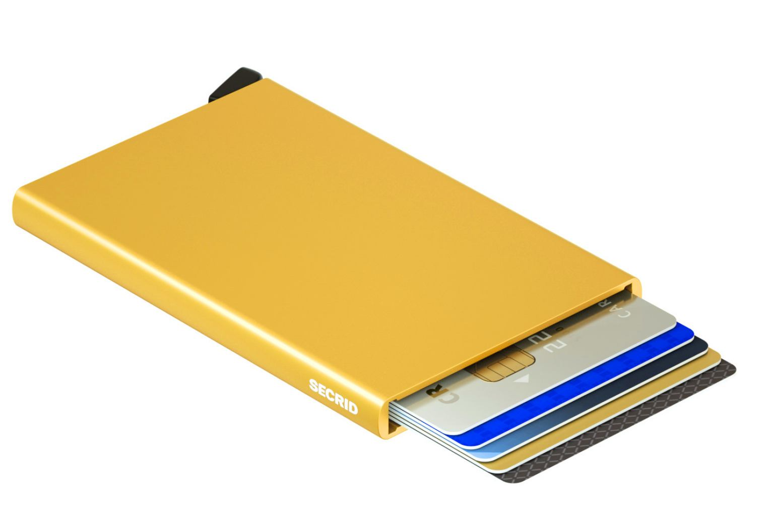 Secrid Cardprotector Kartenetui Chipkartenschutz RFID Gold