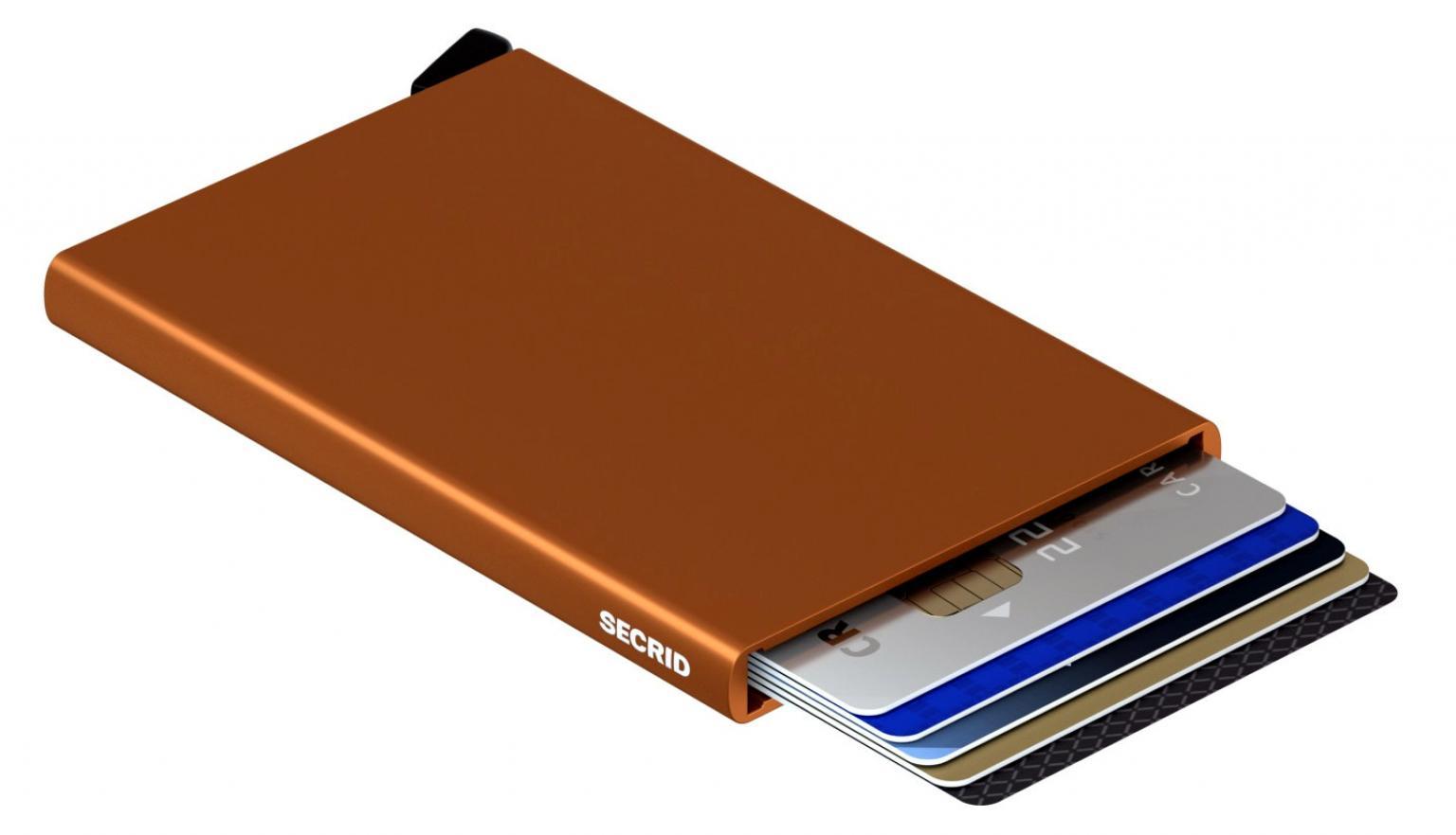 Secrid Cardprotector Metallkartenhülle RFID Rust