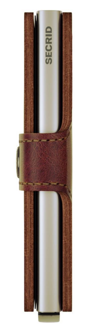 Secrid Cardprotector Miniwallet vintage brown