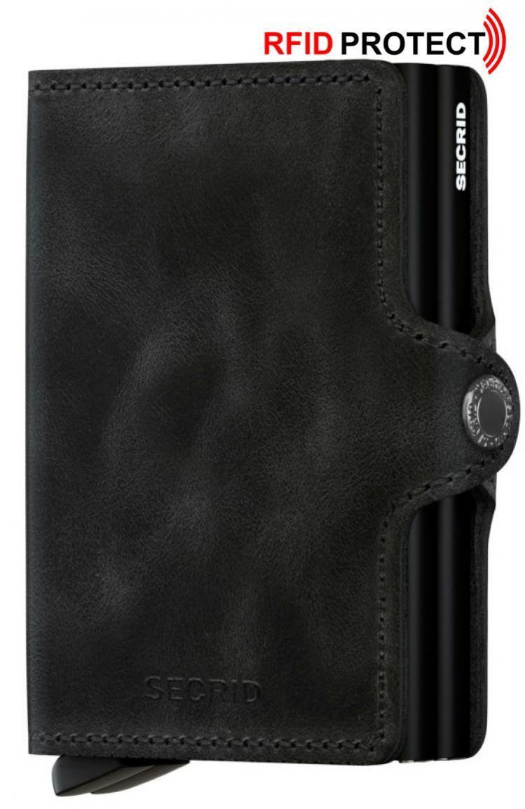 Secrid Cardprotector RFID-Schutz Twinwallet Vintage Black