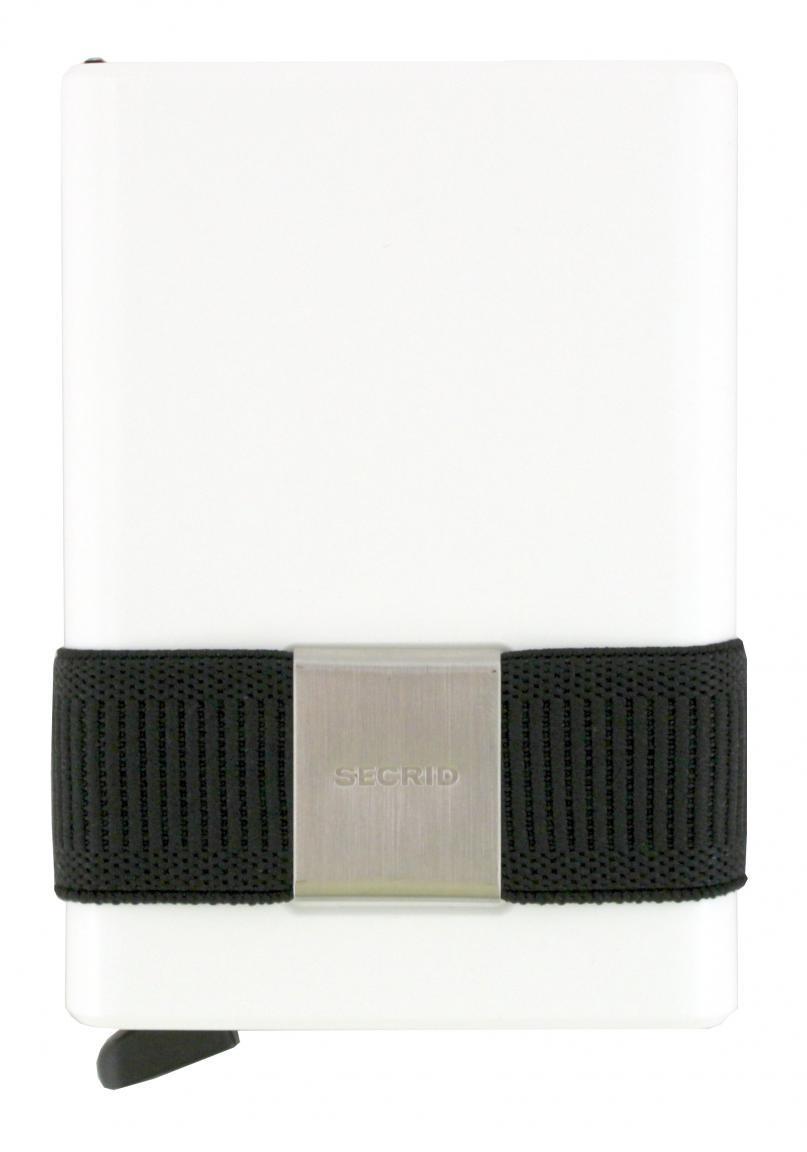 Secrid Cardslide Set Kartenhülle Hartgeldfach RFID rot/weiß