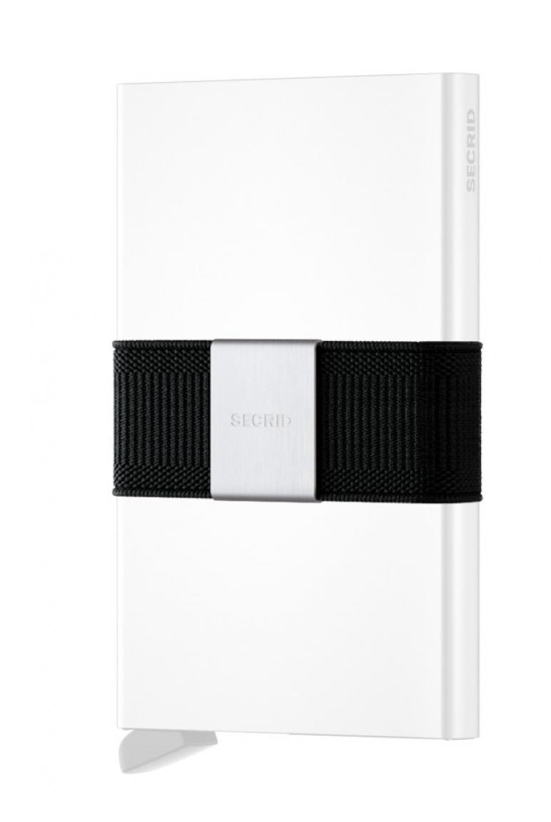 Secrid Cardslide Set Kartenhülle mit Hartgeldfach RFID Schwarz/S