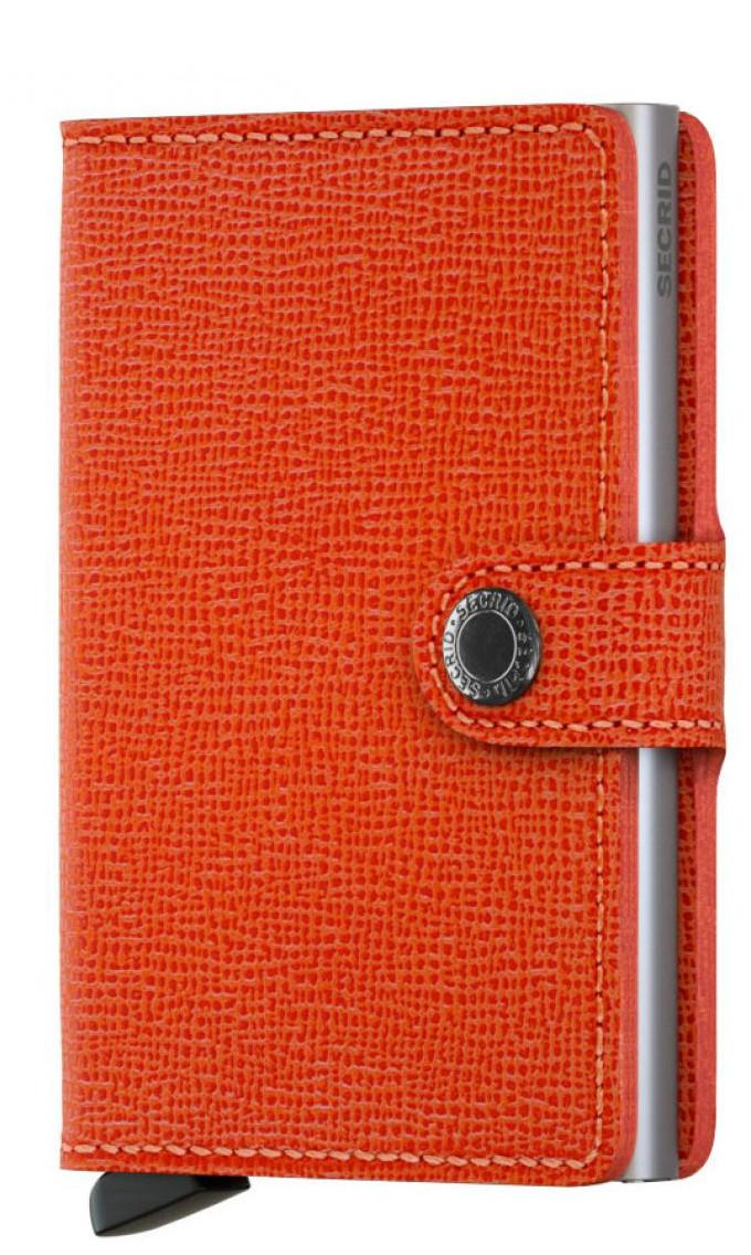Secrid Karten Schutzhülle RFID Miniwallet Crisple Orange