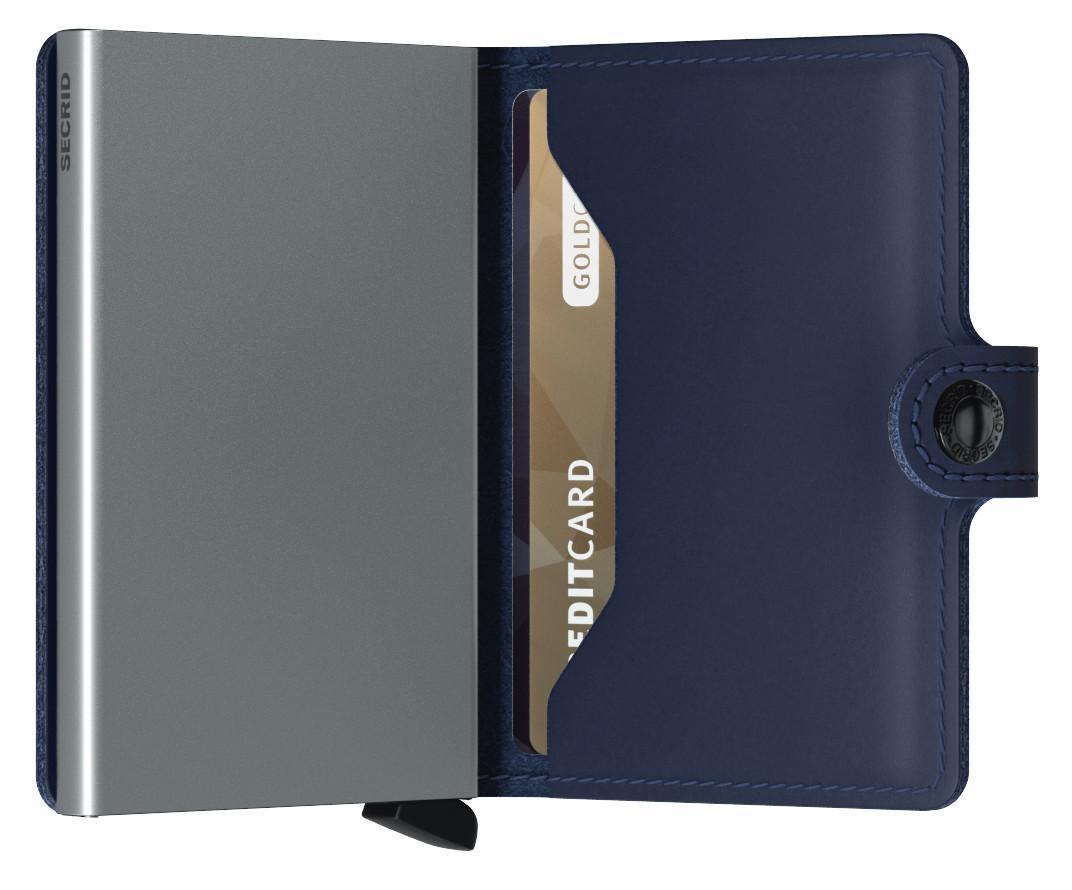 Secrid Kartenbörse Miniwallet dunkelblau Original Navy