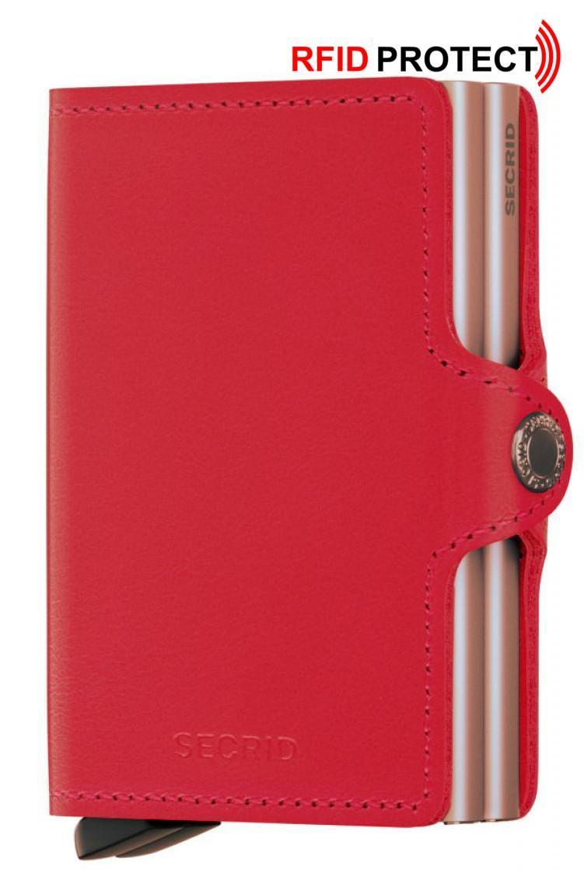 Secrid Kartenetui doppelt Twinnwallet (rot)