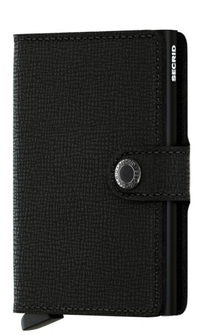 Secrid Kartenhülle RFID-Schutz Miniwallet Crisple Black