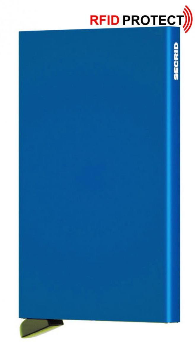 Secrid Kartenmetallhülle (blau)