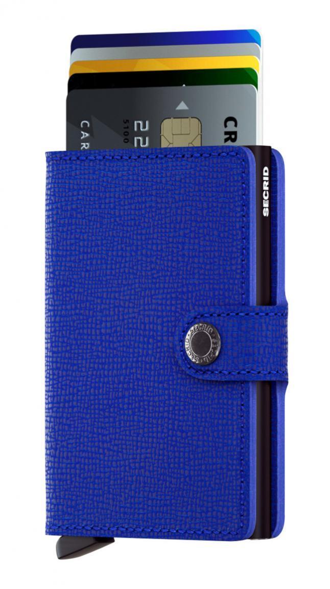 Secrid Miniwallet Crisple Blue-Black