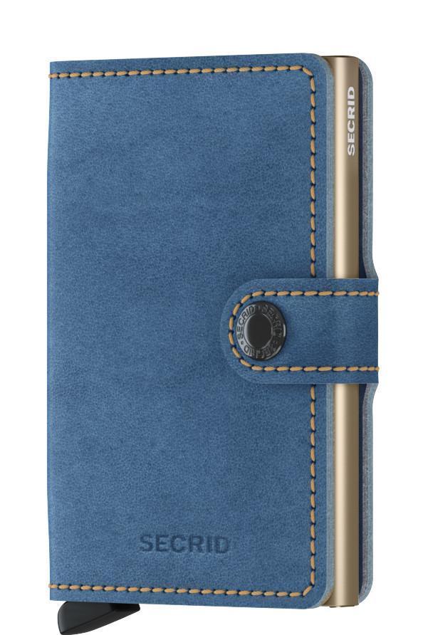Secrid Miniwallet Kartenetui Indigo 3 blau