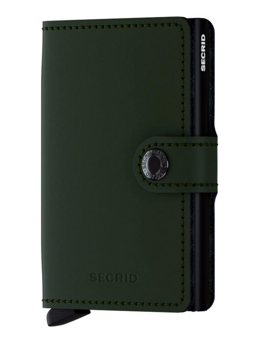 Secrid Miniwallet Kartenetui RFID Matte Green-Black
