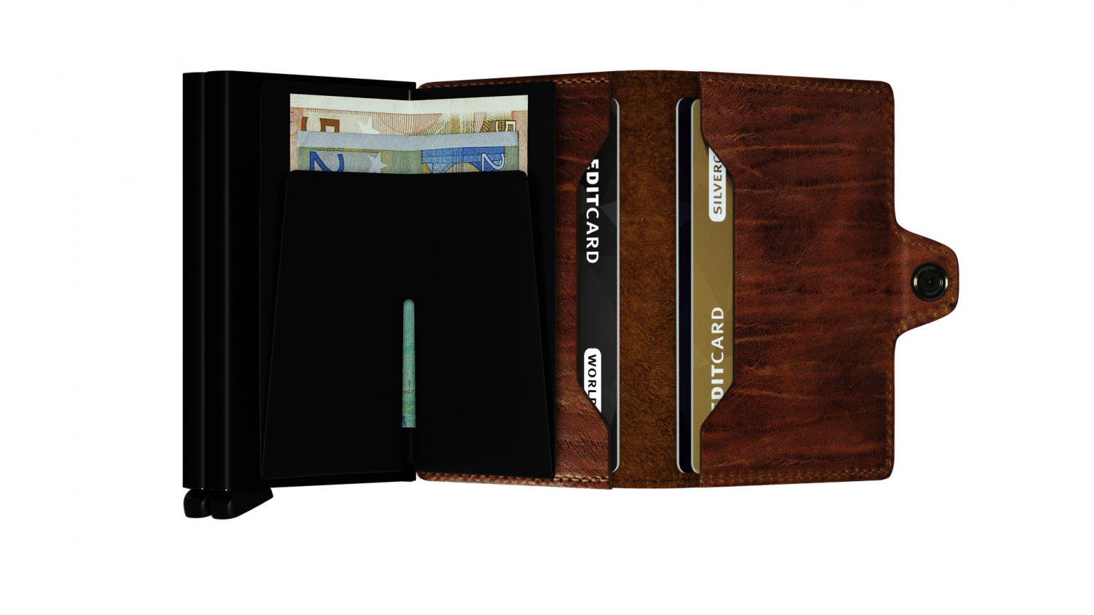 Secrid Miniwallet Kartenetui Recycled Natural