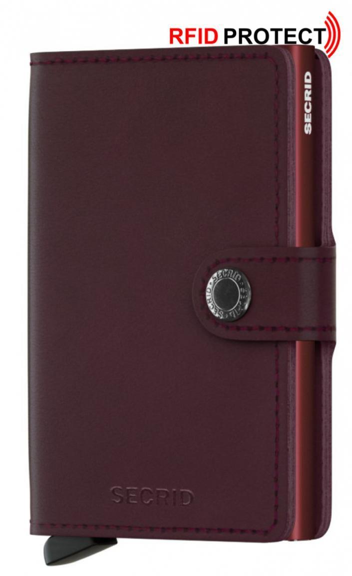 Secrid Miniwallet Kartenhülle Original Bordeaux