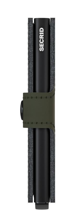 Secrid Miniwallet Minigeldbörse RFID-Schutz Stitch Linea Lime
