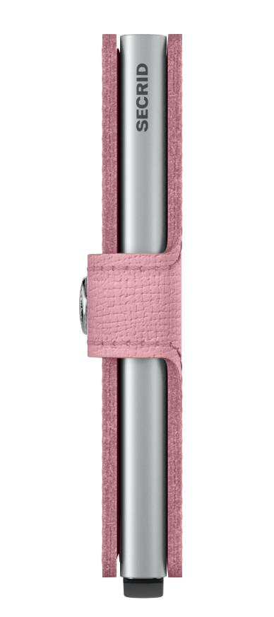 Secrid Miniwallet Minigeldtasche im Kartenhülle Crisple Pink